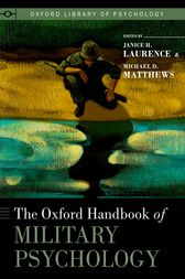 The Oxford Handbook of Military Psychology by Janice H. Laurence