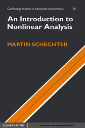 An Introduction to Nonlinear Analysis by Martin Schechter