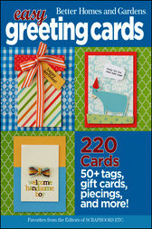 Easy Greeting Cards by Better Homes & Gardens
