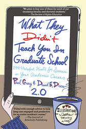 What They Didn't Teach You in Graduate School by Laurie Richlin