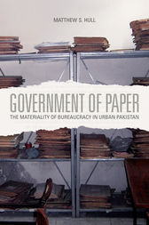 Government of Paper by Matthew S. Hull