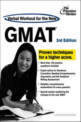 Verbal Workout for the New GMAT, 3rd Edition by Princeton Review