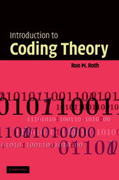 Introduction to Coding Theory by Ron Roth