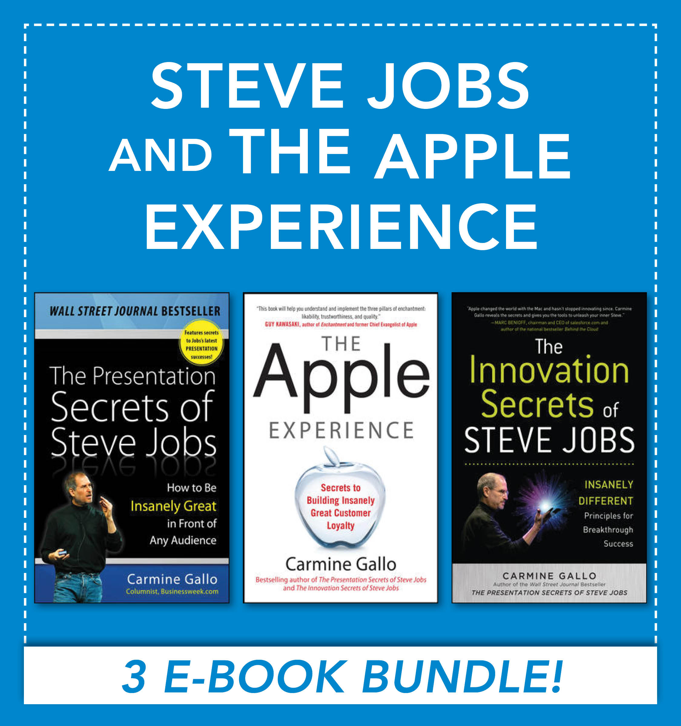 Download Ebook Steve Jobs and the Apple Experience (EBOOK BUNDLE) by Carmine Gallo Pdf