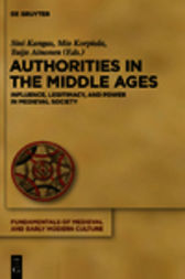 Authorities in the Middle Ages by Sini Kangas