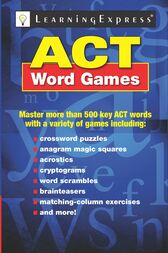 ACT Word Games by LearningExpress LLC Editors