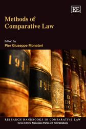 Methods of Comparative Law by Pier Giuseppe Monateri