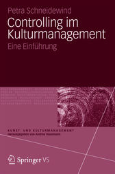 Controlling im Kulturmanagement by Petra Schneidewind