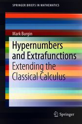 Hypernumbers and Extrafunctions by Mark Burgin