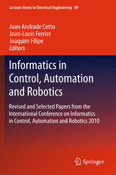 Informatics in Control, Automation and Robotics by Juan Andrade Cetto