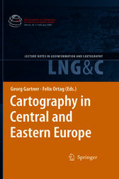 Cartography in Central and Eastern Europe by Georg Gartner