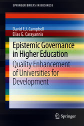 Epistemic Governance in Higher Education by David F. J. Campbell