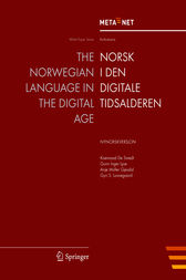 The Norwegian Language in the Digital Age by Georg Rehm