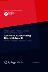 Advances in Advertising Research (Vol. III) by Tobias Langner