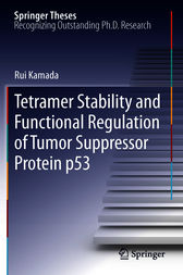 Tetramer Stability and Functional Regulation of Tumor Suppressor Protein p53 by Rui Kamada