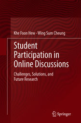 Student Participation in Online Discussions by Khe Foon Hew