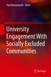 University Engagement With Socially Excluded Communities by Paul Benneworth