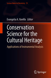 Conservation Science for the Cultural Heritage by Evangelia A. Varella