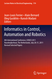 Informatics in Control, Automation and Robotics by Jean-Louis Ferrier