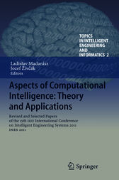 Aspects of Computational Intelligence: Theory and Applications by Ladislav Madarász