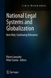 National Legal Systems and Globalization by Pierre Larouche