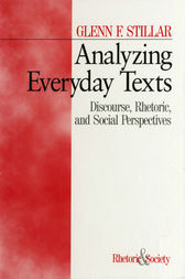 Analyzing Everyday Texts by Glenn F. Stillar