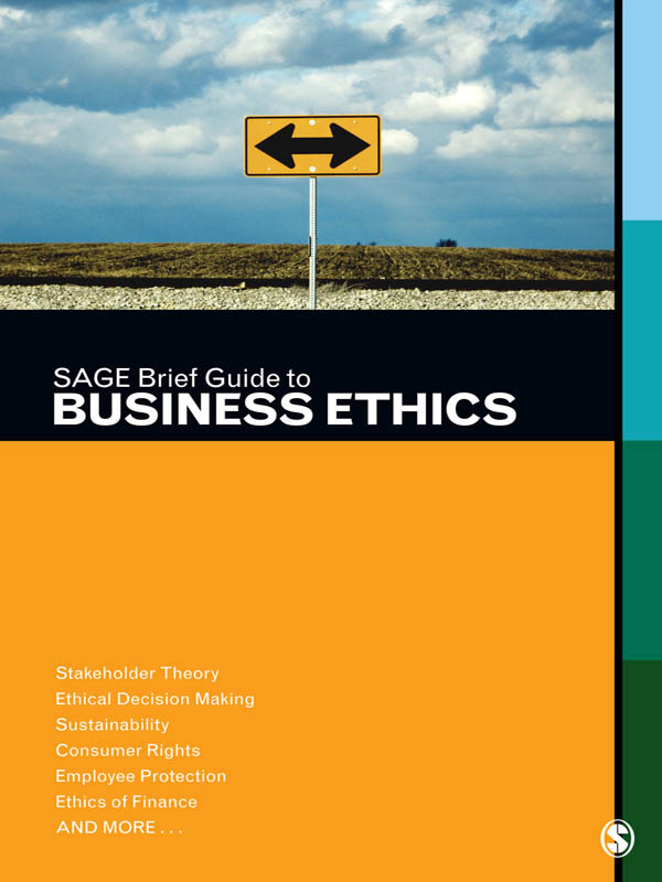 Download Ebook SAGE Brief Guide to Business Ethics by SAGE Publishing Pdf