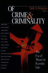 Of Crime and Criminality by Sally Simpson