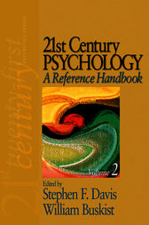 21st Century Psychology: A Reference Handbook by Stephen F. Davis