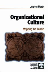 Organizational Culture by Joanne Martin