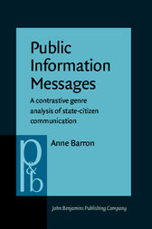 Public Information Messages by Anne Barron
