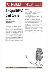 The OpenBSD 4.0 Crash Course by Jem Matzan