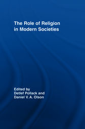 The Role of Religion in Modern Societies by Detlef Pollack