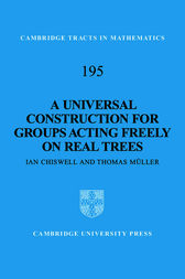 A Universal Construction for Groups Acting Freely on Real Trees by Ian Chiswell