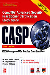 CASP CompTIA Advanced Security Practitioner Certification Study Guide (Exam CAS-001) by Wm. Arthur Conklin