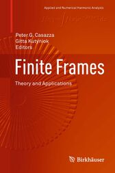 Finite Frames by Peter G. Casazza
