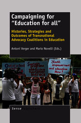 "Campaigning for ""Education for all"" by Antoni Verger"