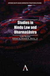 Studies in Hindu Law and Dharmaśāstra by Ludo Rocher