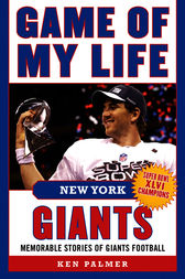 Game of My Life New York Giants by Tiki Barber