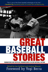 Great Baseball Stories by Andrew Blauner