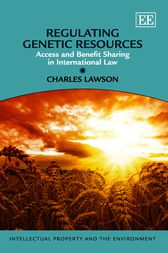Regulating Genetic Resources by Charles Lawson