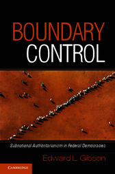 Boundary Control by Edward L. Gibson
