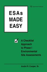 ESAs Made Easy by Andre R. Cooper