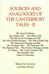 Sources and Analogues of the Canterbury Tales: vol. II by Robert M. Correale