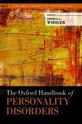 The Oxford Handbook of Personality Disorders by Thomas A. Widiger