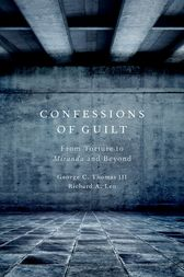 Confessions of Guilt by George C. Thomas III