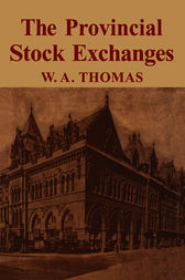Provincial Stock Exchange by William Arthur Thomas