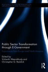 Public Sector Transformation through E-Government by Vishanth Weerakkody