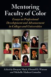 Mentoring Faculty of Color by McFarland & Co;  Elwood D. Watson;  Michelle Ma Camacho