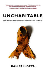Uncharitable by Dan Pallotta